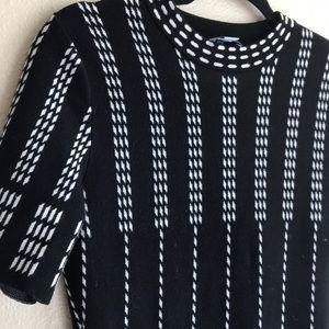 CeCe Dresses - Geometrical black dress
